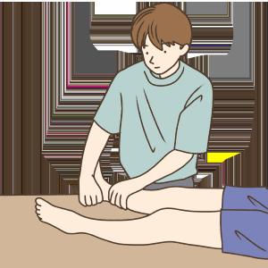 腓腹筋外側頭ストレッチA