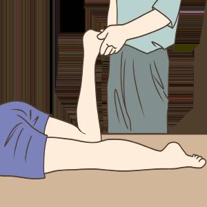 ヒラメ筋のストレッチ2A
